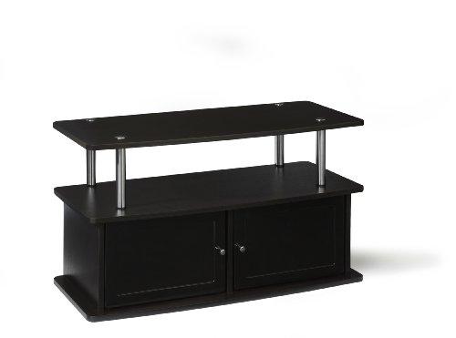 Convenience Concepts designs2go TV Ständer mit 2Schränke für Flat Panel TV 'S bis zu 91,4cm oder 80-pound, Dark Espresso, 48