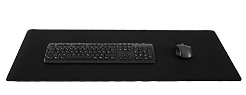 Silent Monsters Gaming und Office Mauspad (900 x 400 x 3 mm, Größe: XXL) schwarz