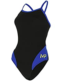 Aqua Sphere MP Team Splice Mid Back Female Black/Royal 32