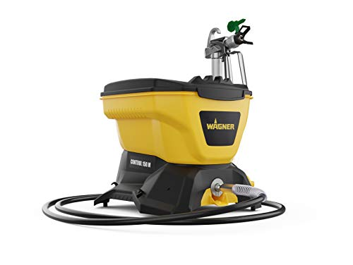 Price comparison product image Wagner 2394313 Airless Control 150 M Paint Sprayer for Wall & Ceiling / Wood & Metal paint-0-900 ml / min,  110 bar,  Container Volume 5500 ml,  7.5 m Hose,  Yellow