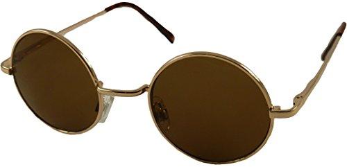 Revive Eyewear Lunettes de soleil Style Oversize Lennon - Marron - marron zRBe0p,