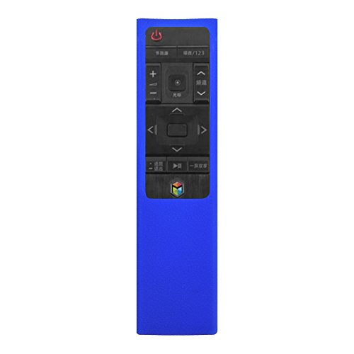 Weicher Silikon Schutzhülle, VBESTLIFE Fernbedienung Hülle Case Cover für Samsung BN59-01220G(blau)