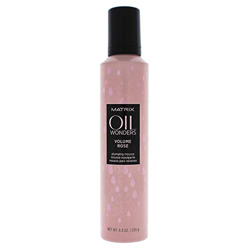 Matrix Oil Wonders Volume Rose Huile/Mousse Volumisante pour Cheveux 247 ml