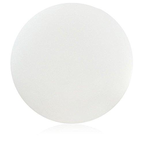 DECORAS LED Ball weiß, Dekoleuchte, Gartenleuchte, Weglicht, Kugelleuchte, Gartenkugel, Dekoleuchte, Kugellampe, LED-Lampe, Gartenlampe -