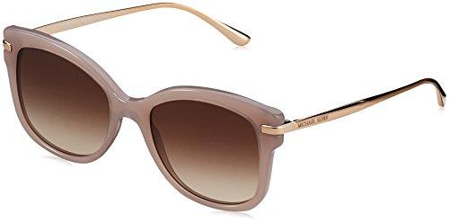 MICHAEL KORS Unisex-Erwachsene Sonnenbrille Lia, Schwarz (Milky Pink 324613), 53 (Kors Pink Sonnenbrille Michael)