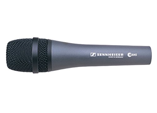 Sennheiser E845 Dynamisches Handmikrofon Vocalist Singer Mikrofon Verkabelt DJ, Disco