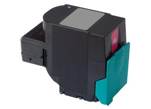 Rebuilt Toner für Lexmark C 544 C 546 X 544 X 546 X 548 DE DN DTE DTN DW N, magenta, 4.000 Seiten, ersetzt C544X1MG