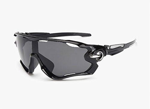 Ppy778 Sport-Sonnenbrillen für Herren und Damen Design für Ski Baseball Golf Radfahren Angeln Laufen Superlight Rahmen Fahren (Color : 9)