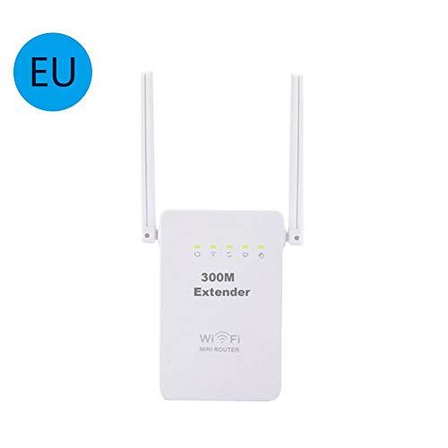 WLAN Repeater 300 Mbps, Repeater,WLAN Repeater Fritzbox, 2 Ports, AP Modus,WLAN Verstärker, WLAN Verstaerker, Kompatibel zu Allen gängigen WLAN-Routern
