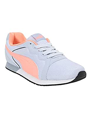 Puma Women's Pacer Wn S Idp Heather-Bright Peach White Sneakers-8 UK (42 EU) (9 US) (36826305)