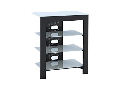 de-conti-arca-xl-b-av-equipment-stands-black-white