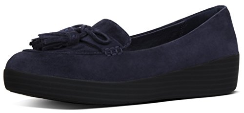 Fitflop, Damen Sneaker Low-tops Blu Notte