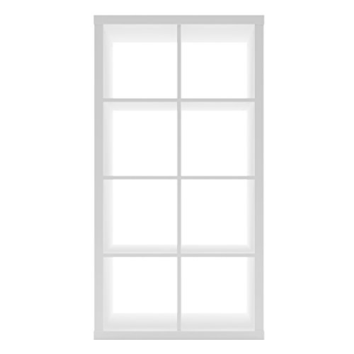 Furniture 247 - Estantería de 4 niveles 8 cubos