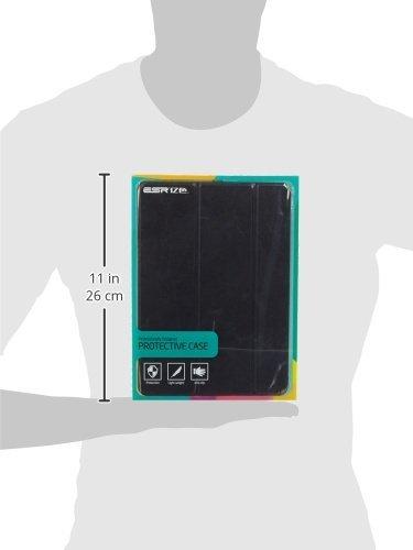 ESR Custodia per iPad Air 2, Ultra Sottile e Leggere, Slim Smart Case Cover Magnetico con la Funzione Auto Sleep per Apple iPad Air 2 9.7 Pollici Uscito a 2014 (Modello A1566, A1567).(Nero)