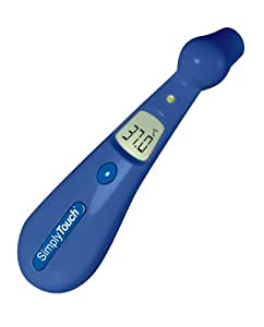 Visiomed Baby Simply Touch, Thermomètre Digital, Frontal Sonde NTC, Bleu