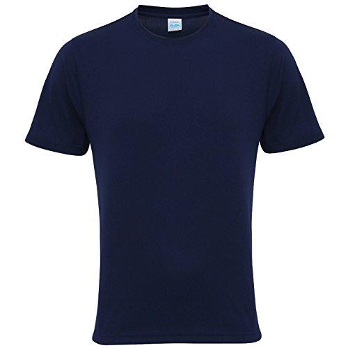 AWDis Cool Herren Modern T-Shirt Gr. L, Oxford Navy