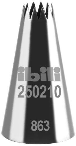 Ibili 250210 Douille de pâtisserie forme d'étoile Multi Branche 10 mm