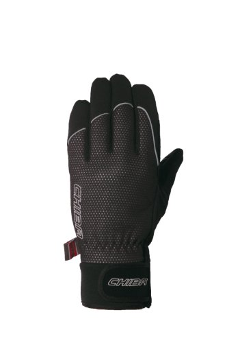 Chiba Herren Thermo Winter Handschuhe aus Polyester L Schwarz -