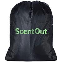 """SCENTOUT reutilizable bolsa de caza aroma control de carbono: 24 """"x 28"""" bolsa Mantiene ropa y Gear aroma"""