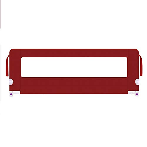 Barrières MAHZONG La pour Enfants empêche la Chute du Baffle de Chevet 150/180 / 200cm (Hauteur de réglage 75cm) (Taille : L-180cm)