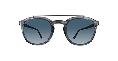 Tod's to0181-20v-grau occhiali da sole, grigio (grau), 50.0 uomo