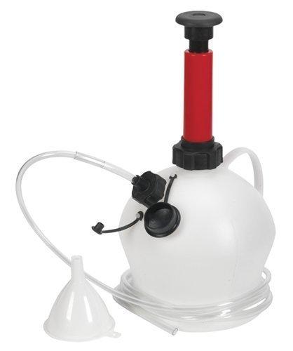 Preisvergleich Produktbild Garden Mile 4L Anleitung Öl und Absaugpumpe Pumpe Auto Kit / Motorrad Motor Flüssigkeit Übertragung Vakuum Siphon Saug Pumpe