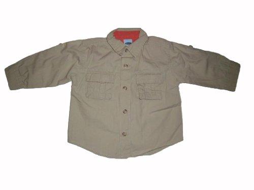 old-navy-chemise-de-loisirs-beige-manches-longues-deux-poches-de-poitrine-taille-env-62-74-us-6-12-m