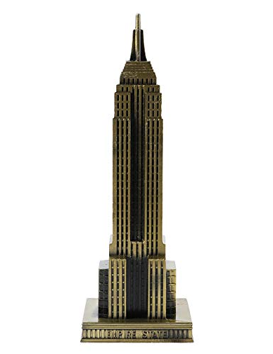 Das Empire State Building Dekorationen Metalldekorationen uns new york Symbol Büro & Heim-Kunstwerk -