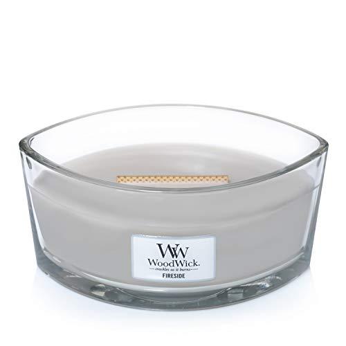 WoodWick vela aromática en forma de elipse, lumbre