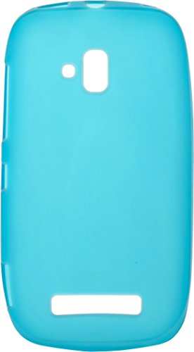 iCandy™ Colourful Thin Matte Finish Soft TPU Back Cover For Nokia Lumia 620 - Blue  available at amazon for Rs.170