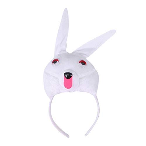 Amosfun Wolf Ohren Stirnband Tierkostüm Ohren Stirnband Party Cosplay Kostüm Zubehör - Wolf Ohren Stirnband Kostüm