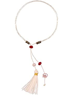 kelitch Hand Woven Multicolor Quaste Single Wrap Armbänder Perlen Freundschaft Armbänder