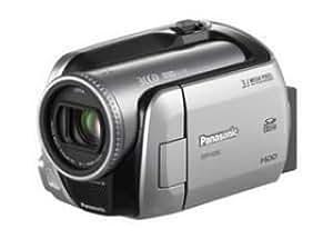 Panasonic Caméscope numérique SDR-H250 hybride à disque dur / carte SD (carte SD de 512 Mo fournie) 30Go zoom optique x32 système antichoc fonction DVD copy