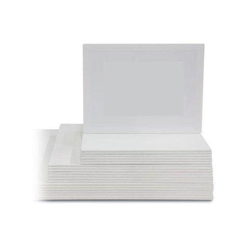 Lukas® Cotton-Malkarton Malpappe Malplatte | 20 x 20 cm
