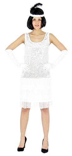 Foxxeo 40205 | 20er Jahre Damen Kleid Charleston -