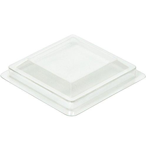 60Mini Cube 50Stück/100Stück/Deckel 50 pack Cover Lids for 2oz Mini Cube Small Square (Party Sydney Supplies)