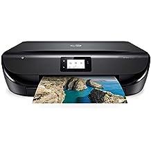 HP Envy 5030, Stampante Multifunzione a Getto di Inchiostro, Stampa, Scannerizza, Fotocopia, Wi-Fi Direct, 3 Mesi di Servizio Instant Ink Inclusi, Nero