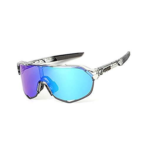 Reitbrille Sportbrille, Herren- und Damenfahrradbrille UV400 zum Angeln, Laufen, Fahren, Golf @ 1