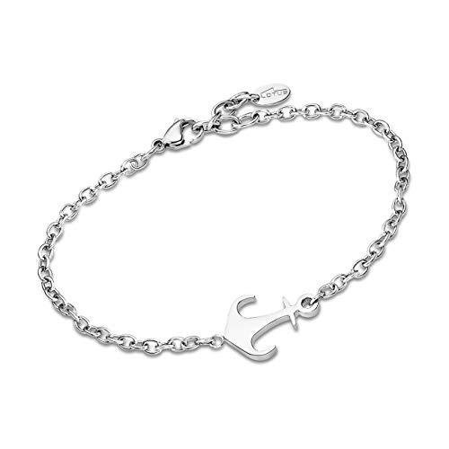 e40e0cabd6d LOTUS Style LS1995-2 1 Bracelet pour femme en acier inoxydable Argenté