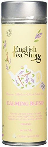 English Tea Shop Calming Blend Organic 15 Pyramid Tea Bags (Pack of 2)
