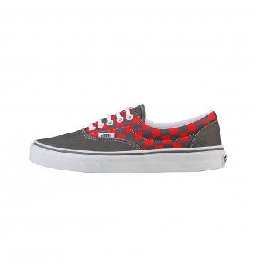 Vans U Era (2 Tone) Vqfk7fe_Rouge (Tawny) - Zapatillas de deporte de tela unisex, color rojo, talla 44.5