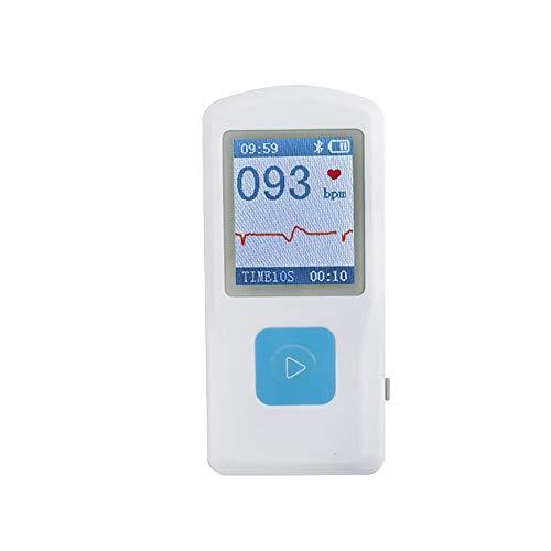 CARESHINE PM10 Tragbares EKG EKG-Gerät Herzschlag Monitor USB Bluetooth LCD