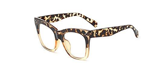 Muxplunt - Mode Weinlese-Brillen Frauen Platz Brillen Frauen Glas-großes Feld Brillen Shades Lunette Femme [C15]
