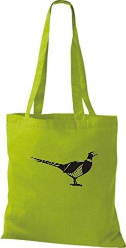 Fagiano Di Animali Del Sacchetto Di Stoffa Di Felpa, Kiwi Di Uccello