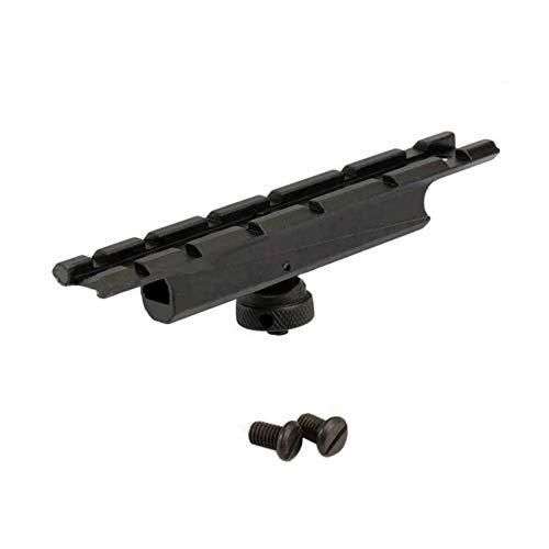 HATCHMATIC Standard 20mm Weber-Schienen-Bereich Halterung Basistragegriff Durchsichtig Short-Einfassungs-Unterseite für M4 / M16 Tragegriff -