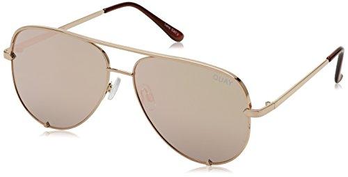 Quay Eyewear Unisex-Erwachsene Sonnenbrille High Key, Tortoiseshell/Brown, 150