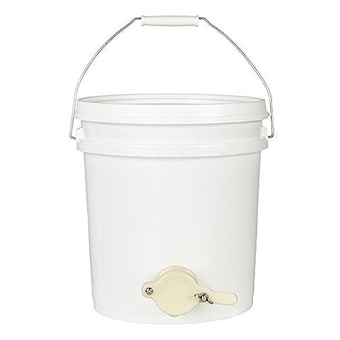 Bee Proof Anzüge Lebensmittelqualität Kunststoff oder Edelstahl Honig Tank mit Honig Absperrschieber