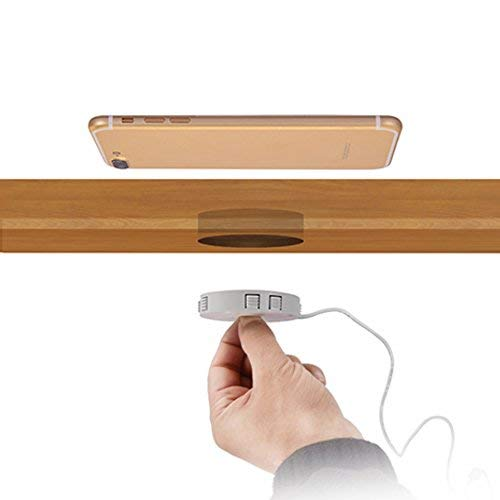 Qi Einbau Ladegerät Fast Charge Wireless Induktion Charger drahtlos Ladestation für Smartphones und Zubehör