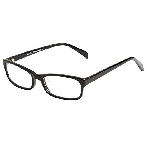 Z&HA Anti-Müdigkeits-Lesebrille für Damen und Herren, hochauflösende Gläser, ultraleichte Retro-Lesebrille mit hochwertigem Plattenrahmen, Lesebrille für Büroräume + 100 bis + 350,03,+300