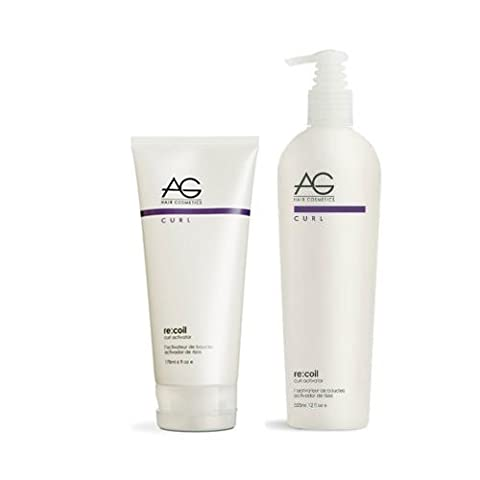 AG Hair Re-Coil Curl Activator 180ml + 350ml (Duo Set) by N/A